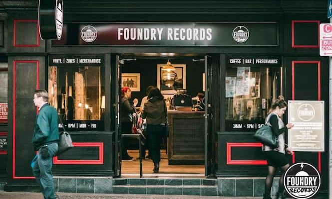 New record shop with café, bar and performance space opens in Brisbane