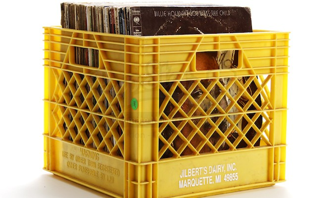 Finest Why it's criminal to store records in milk crates - The Vinyl Factory RX68