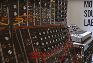 Inside the Moog Sound Lab