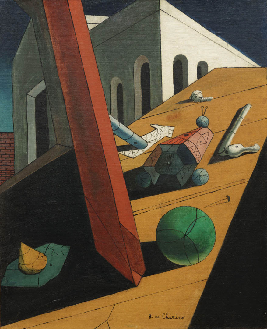 Giorgio de Chirico The Evil Genius of A King