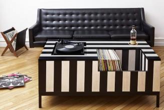 The ultimate coffee table for vinyl aficionados