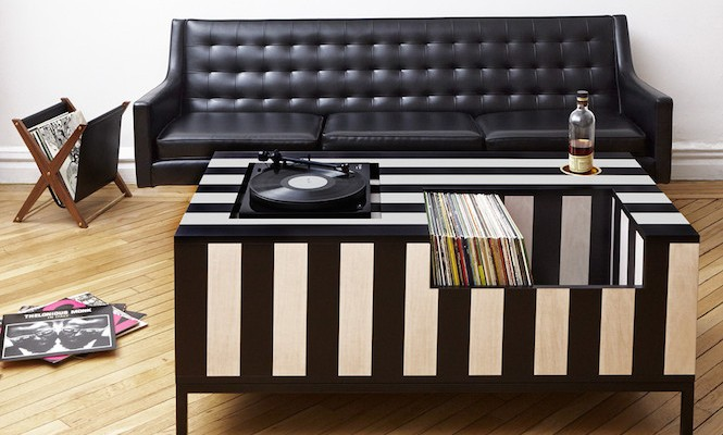 The ultimate coffee table for vinyl aficionados
