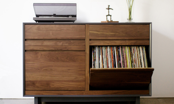 Bored of IKEA? 12 alternative ways to store your records - The Vinyl on partners desk, office desk, escritoire desk, plantation desk, trestle desk, styles of desk, standing desk, computer desk, davenport desk, carrel desk, hutch desk, secretary desk, sit-stand desk, bureau desk, wooton desk, pedestal desk, slant top desk, campaign desk, l-shaped desk, resolute desk,