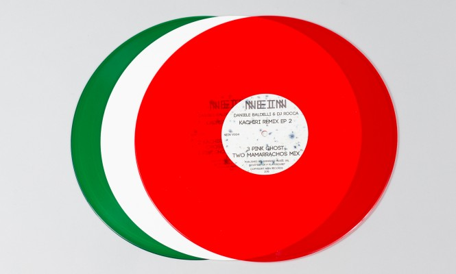 Daniele Baldelli & DJ Rocca have new EP released on Italian tricolour vinyl
