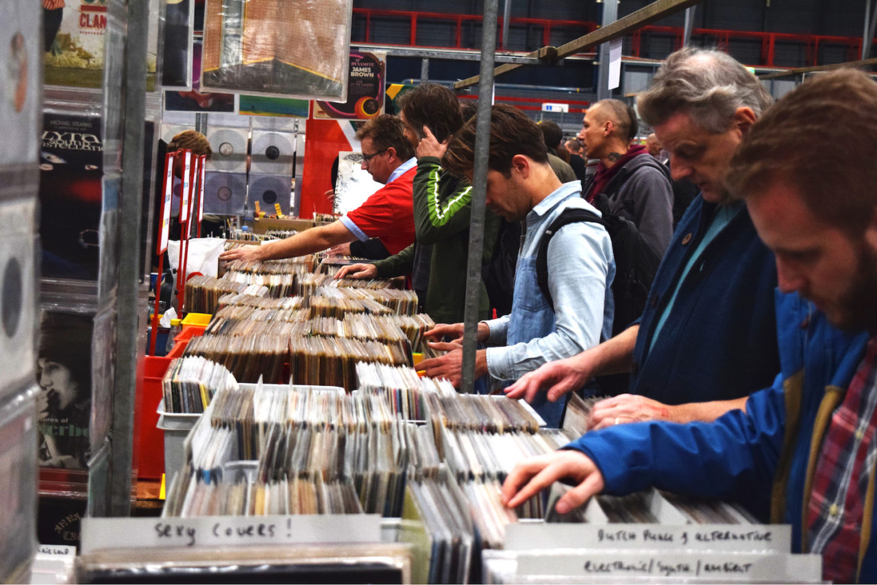 Photos Inside The World S Biggest Record Fair The Vinyl