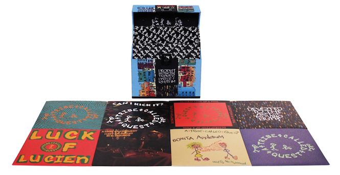 a-tribe-called-quests-debut-album-gets-45s-boxset-reissue-across-eight-7-singles