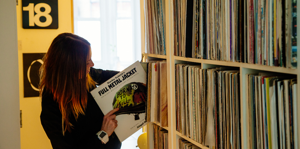 Crate Diggers: Andrea Parker - The Vinyl Factory