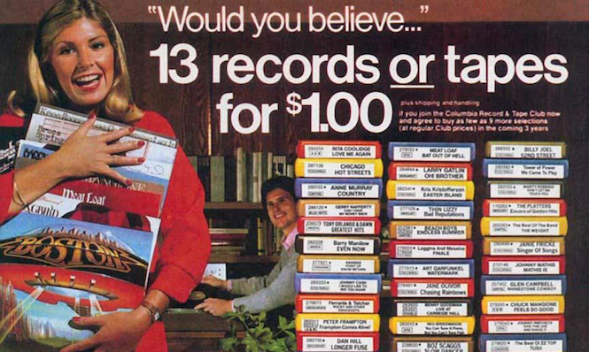Is Columbia House about to relaunch as a vinyl mail-order service?