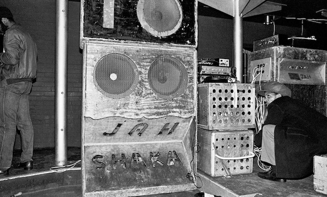 Hear your records played on an authentic reggae sound system