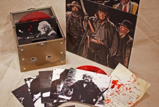 Check out the limited edition 7&#8243; boxset for Quentin Tarantino&#8217;s <em> The Hateful Eight </em>