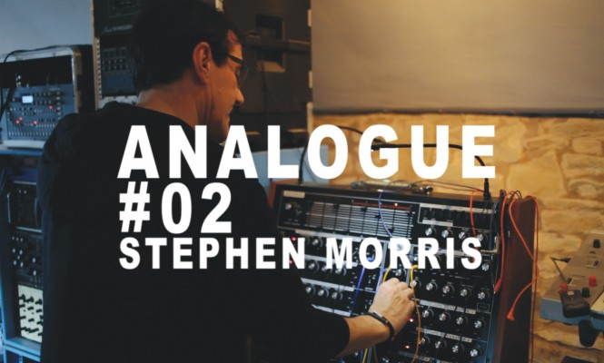 Analogue #02: In the studio with Joy Division and New Order's Stephen Morris