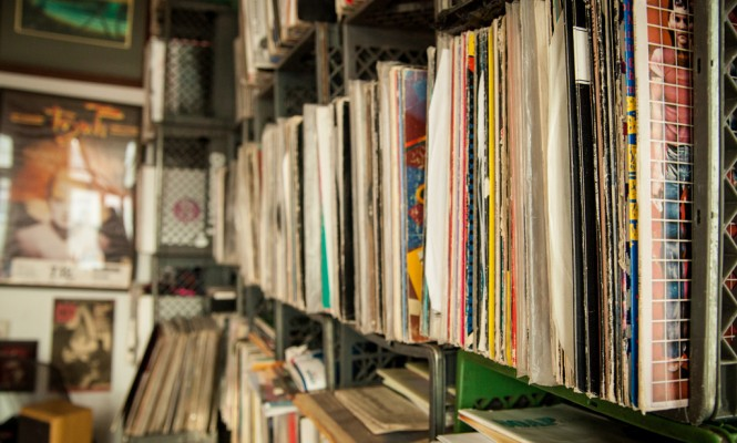 Lifetime collection of 100,000 vinyl records up for grabs