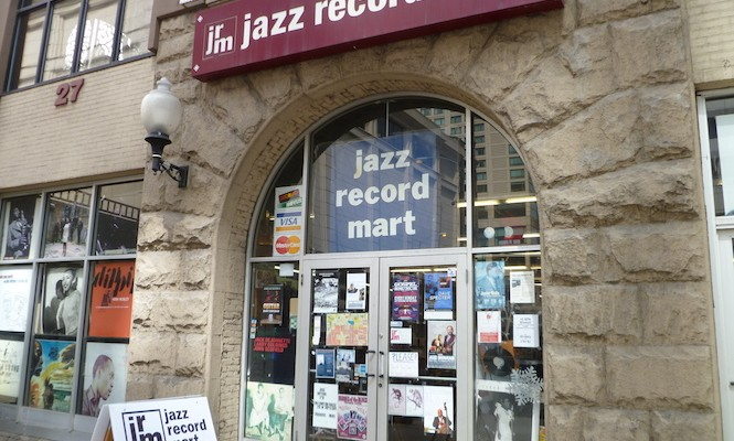 """The world's largest jazz and blues record store"" goes on sale"