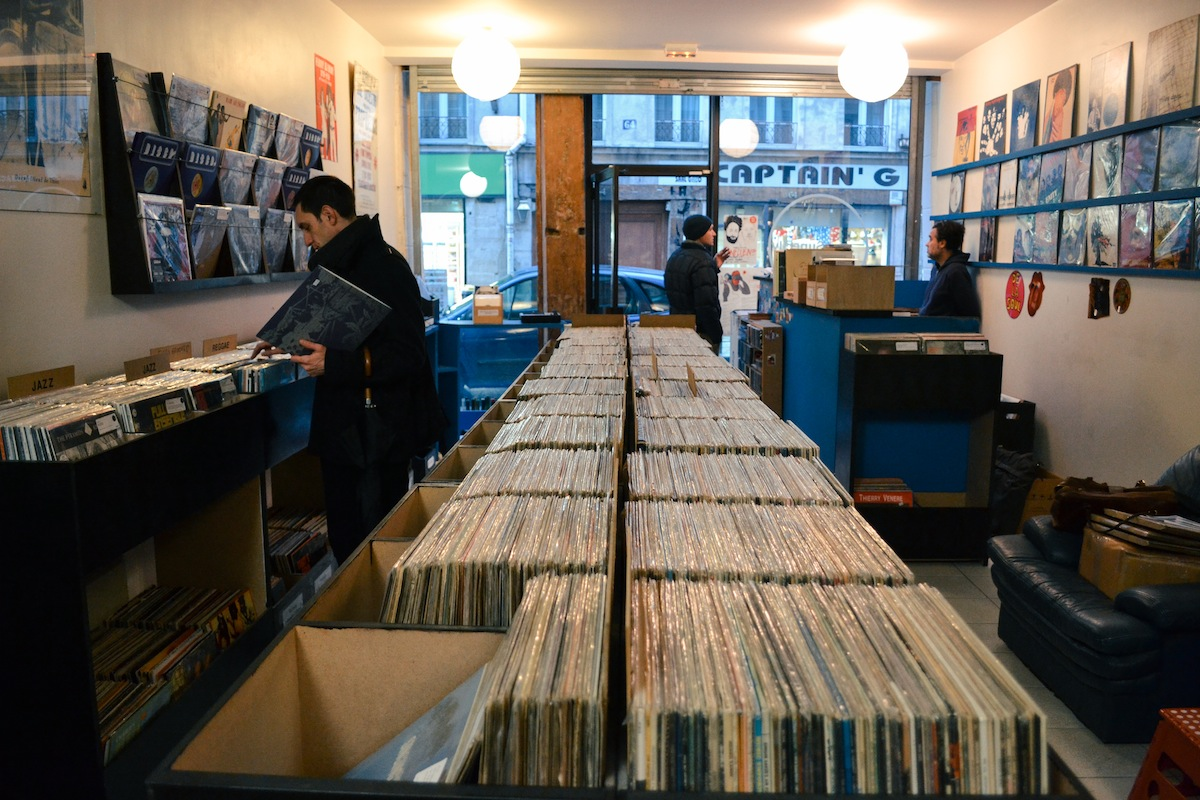 Superfly record shop Paris
