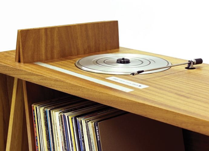 10 incredible record player consoles to reimagine your for Bureau records
