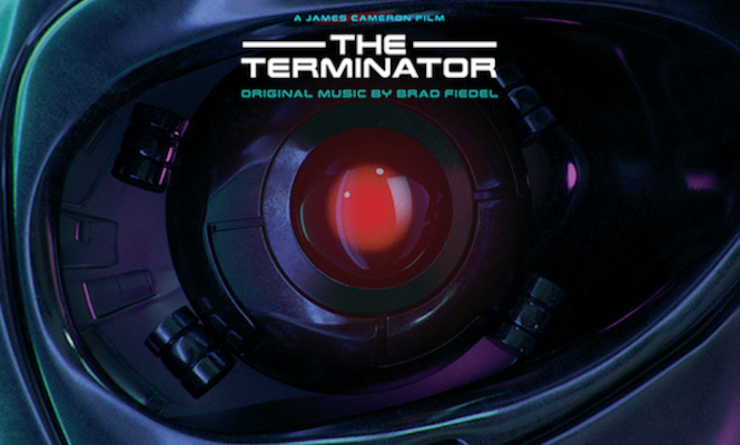 <em>The Terminator</em> score reissued on coloured vinyl