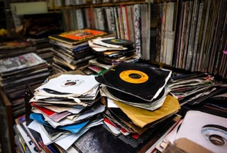 Gigantic 45s collection goes on sale; 750,000 records for $75,000