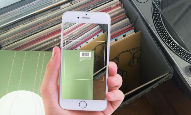 discogs-ios-app-launch