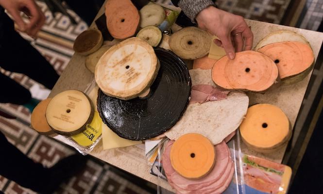Matthew Herbert turned cheese, aubergine and ham into edible, playable vinyl records