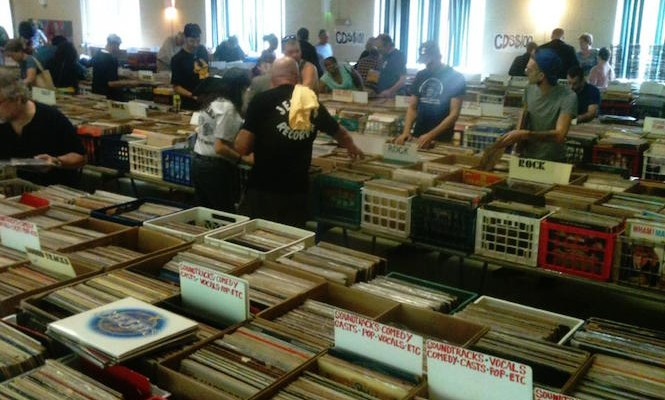This record store is giving away 20,000 free records on Saturday