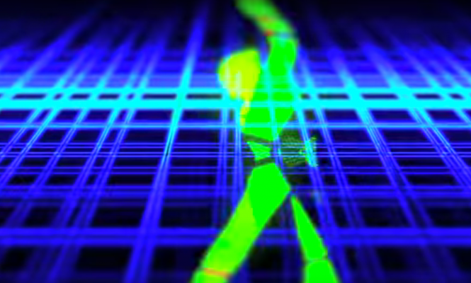 Watch the rave-inspired video for Powell's remix of EBM pioneers P/1e