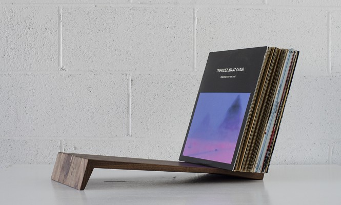 Check out this new tabletop record stand