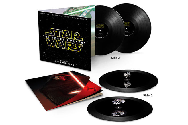 The new Star Wars soundtrack comes to vinyl with holograms