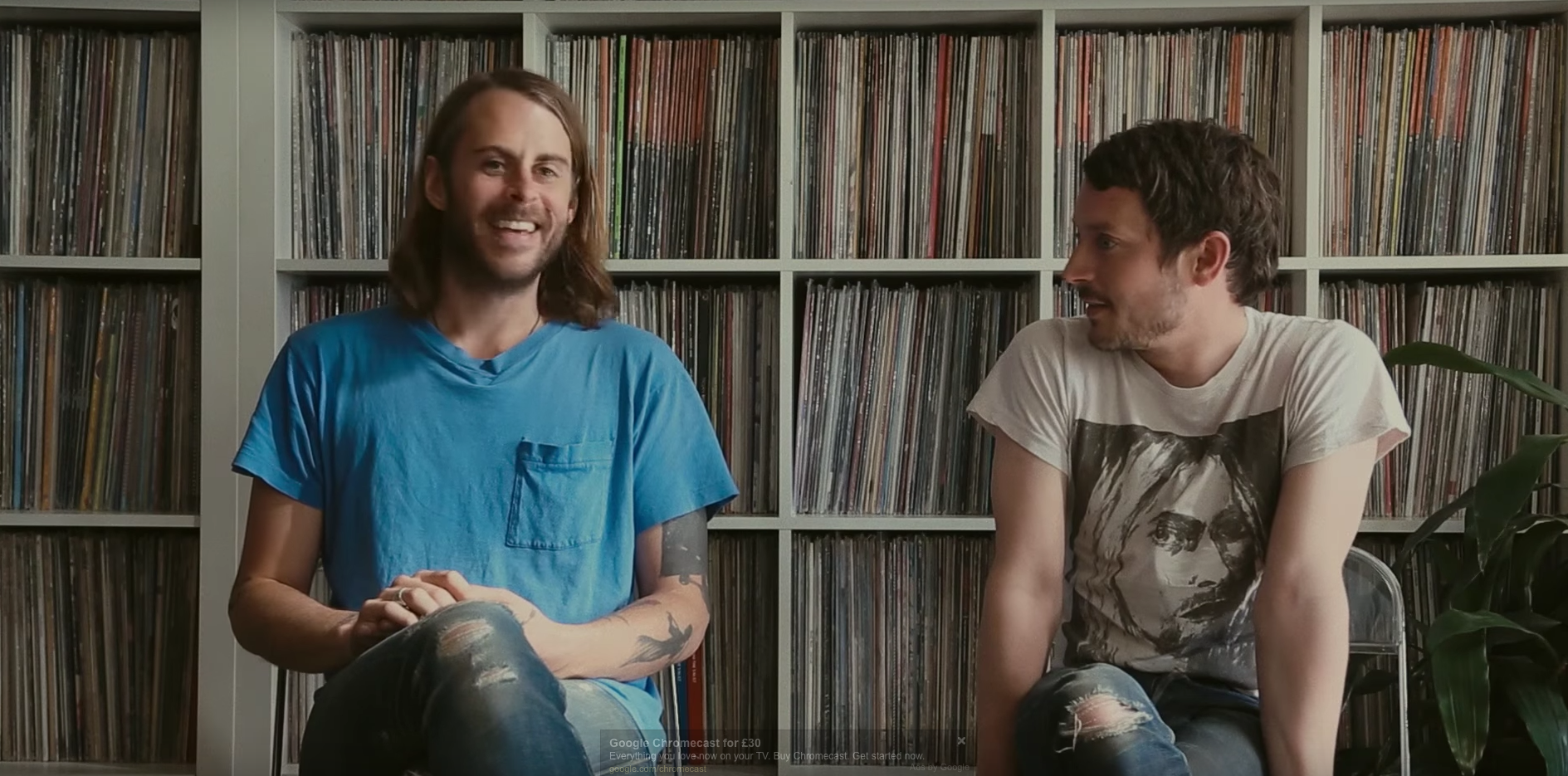 Go inside Elijah Wood and Zach Cowie's record room in our new short film