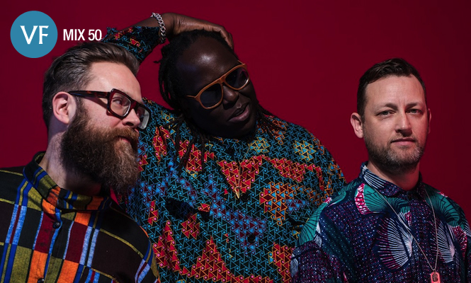The Invisible look to Africa for VF Mix 50