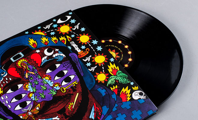 Kaytranada s 99.9% has some of the funkiest artwork so far this year ... 3f1423355519
