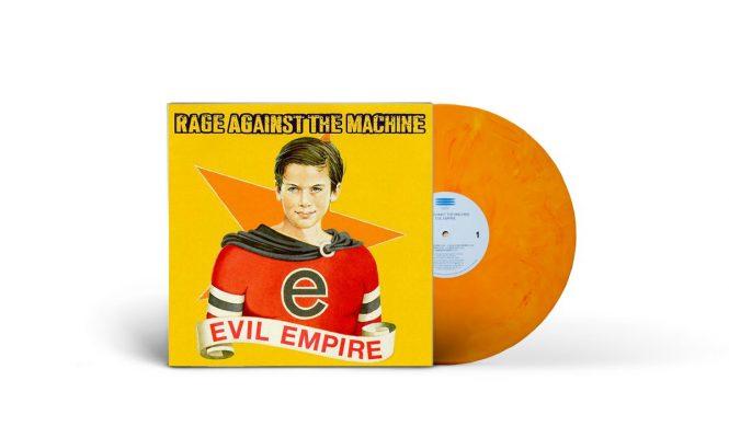 Rage Against The Machine&#8217;s <em>Evil Empire</em> reissued on marbled vinyl