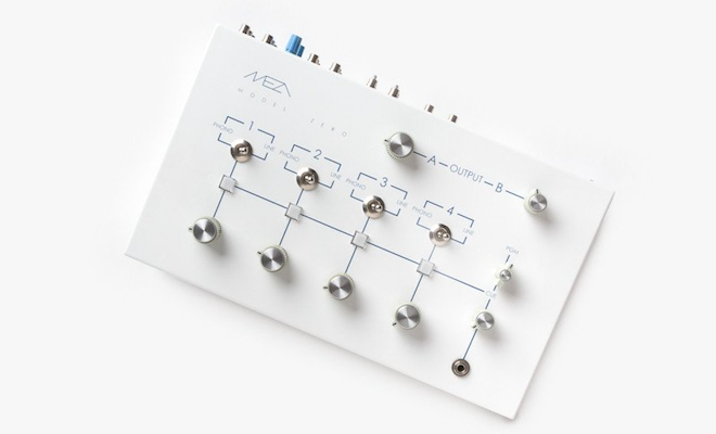 This minimalist rotary mixer is designed for discerning DJs and