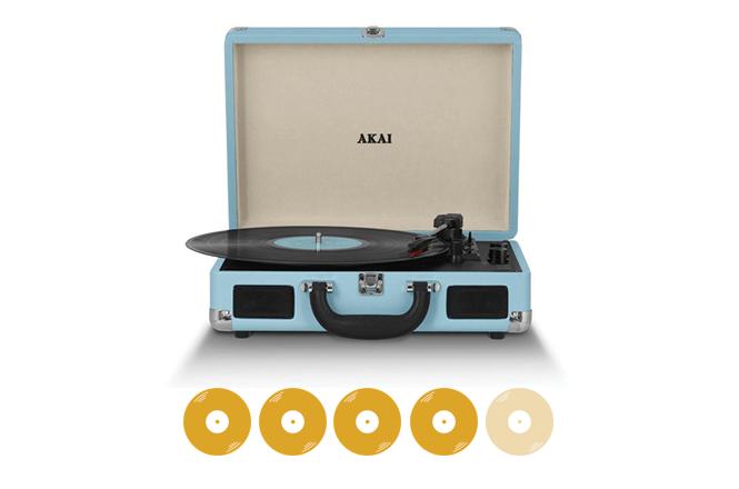 Turntable Review: Akai Retro The Vinyl Factory