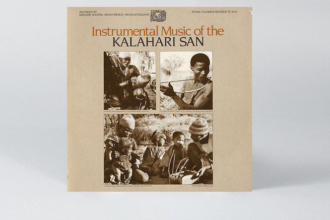 nstrumental-Music-Of-The-Kalahari-San