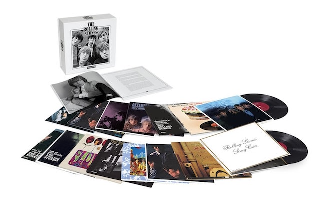 The Rolling Stones collected in mono for massive 16xLP vinyl box set