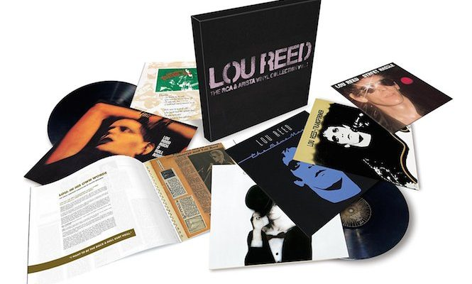 Lou Reed early solo albums collected in massive 6xLP box set
