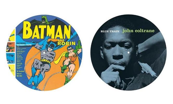 Sun Ra John Coltrane And Alfred Hitchcock Picture Discs