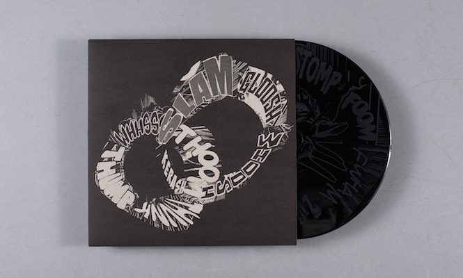 Christian Marclay and Mats Gustafsson release live performance on vinyl with etching
