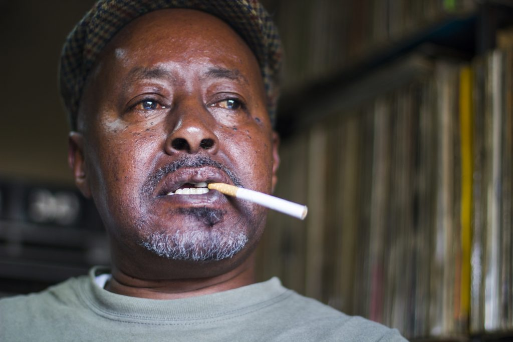 The Vinyl Man Of Kenyatta Market