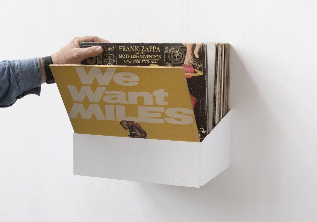 Bon Teenyle Record Storage Shelf Set Of 2 1