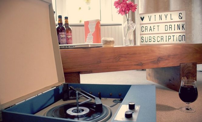New vinyl and craft beer subscription service launches