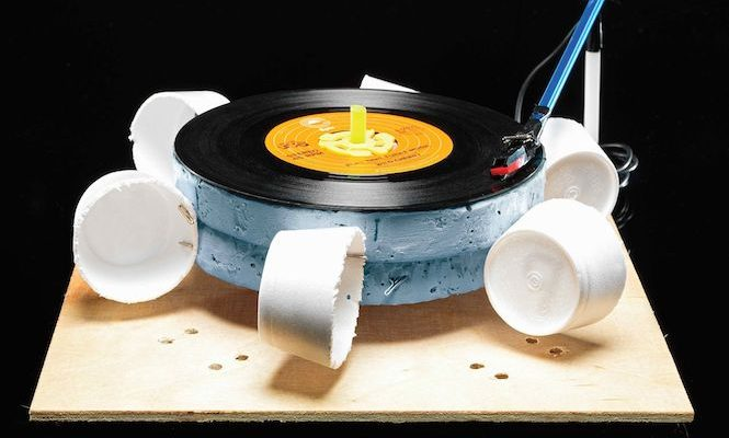 Build a wind-powered turntable with this step-by-step guide