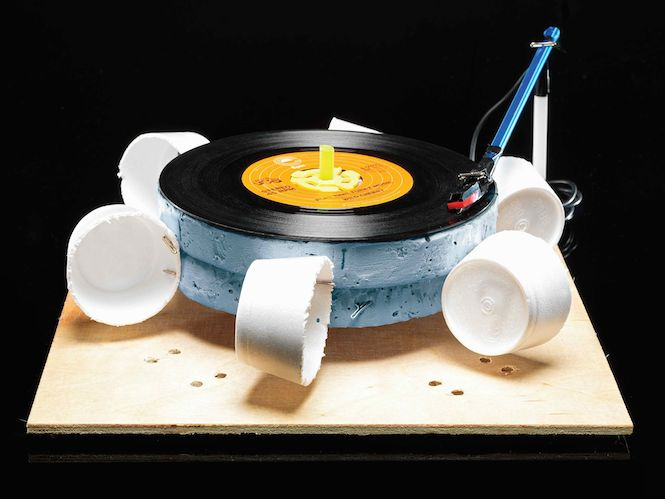 wind record player