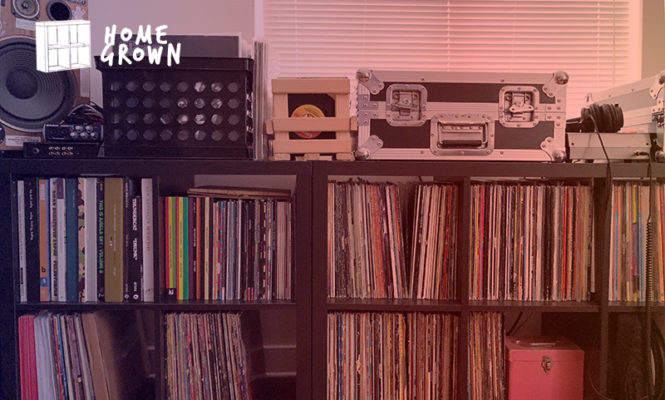 Home Grown: The collector with 5 Technics 1200s and Klipsch speakers