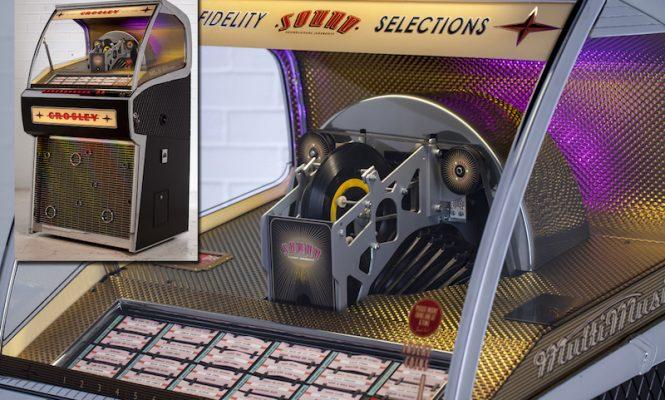 Crosley reveals its Vinyl Rocket Jukebox