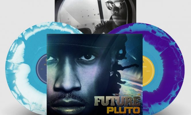 Future's <em>Pluto</em> is being released on tie-dyed vinyl
