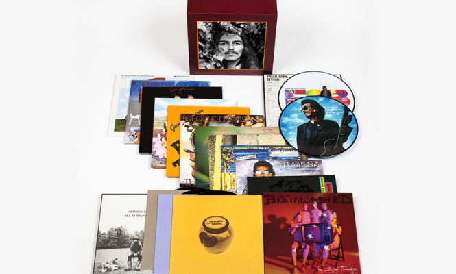 George Harrison's solo albums collected in vast box set with limited edition turntable