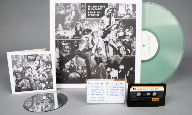 Sleater-Kinney to release first ever live album on vinyl