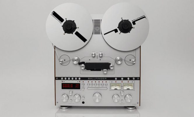 German brand unveils stunning new reel-to-reel tape machine and turntable