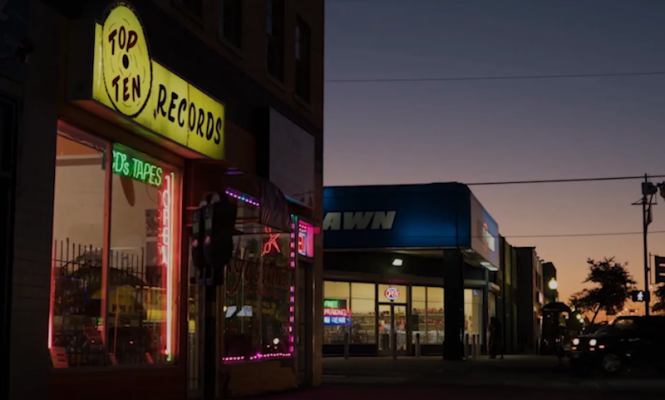 This record shop wants to re-open as a music library